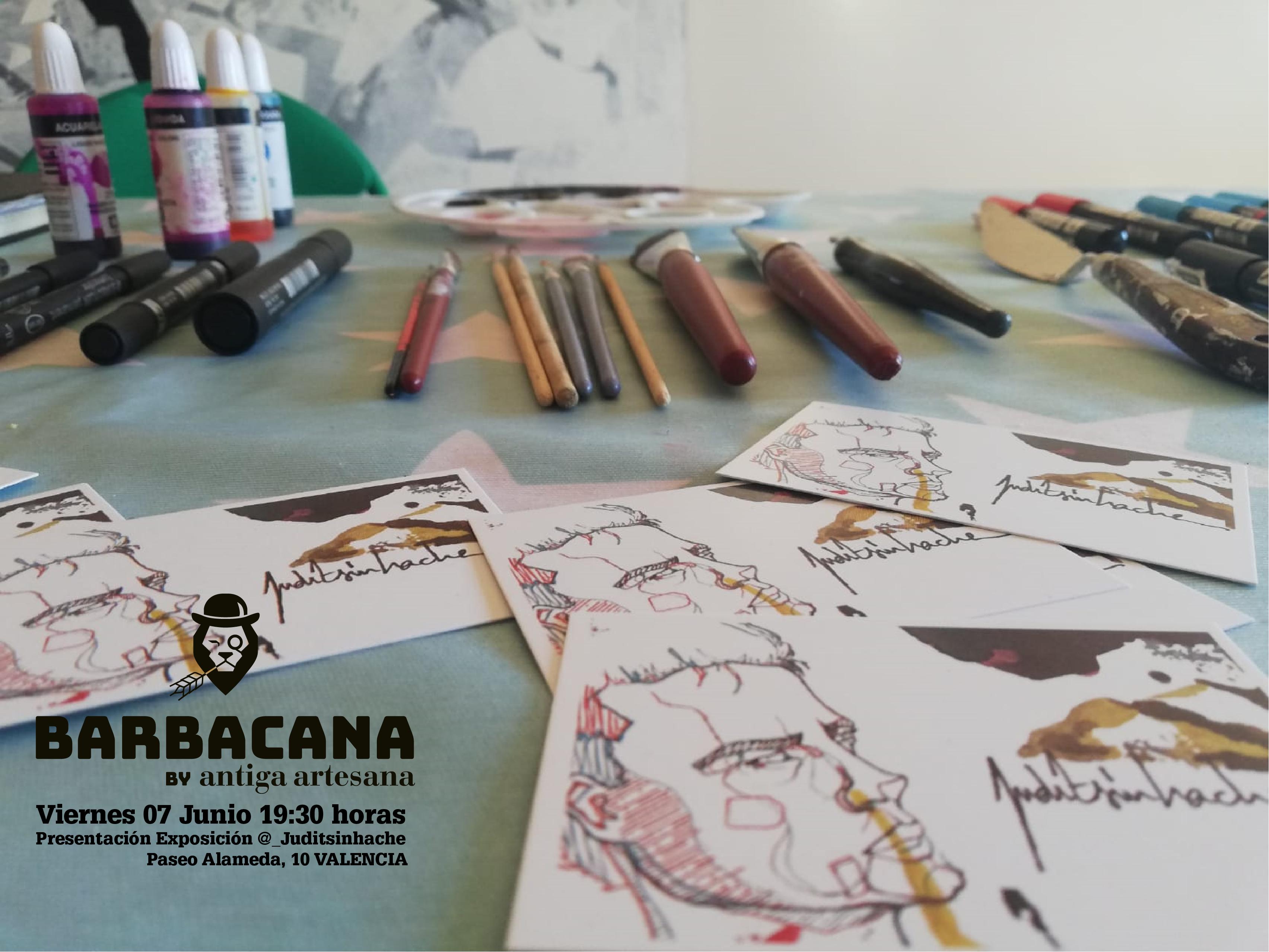 Exposición de Cuadros en Barbacana